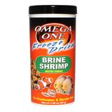 Omega One Freeze-Dried Brine Shrimp Fish Food 1.28 ounce