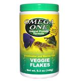 Omega One Veggie Flakes Fish Food 5.3 ounce