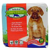 Dry-Tech Dog Housebreaking Pads 30 Pack