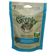 Greenies Feline Ocean Fish 2.5 oz For Cats