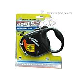 Power Walker Retractable Dog Leash Small Black