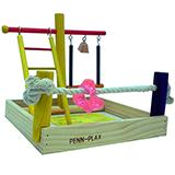 Penn Plax Play Center Small Bird Playpen