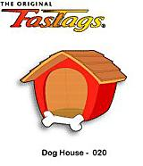 FasTags Do-it-yourself Pet ID Tag Dog House Pattern