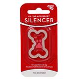 Dog Tag Silencer Large Bone Shape