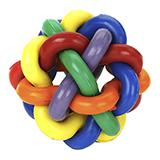 Nobbly Wobbly Ball Large 4-inch Dog Toy