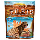 Zuke's Z-Filets Basted Beef Dog Treat