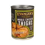 Evanger's Chicken Thighs Canned Dog Food 13 oz