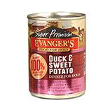 Evanger's Duck Sweet Potato Canned Dog Food 13 oz
