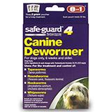 Safe-Guard Canine Dewormer 2 Gram 3 Pack