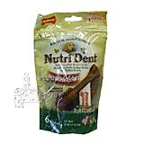 Nutrident Filet Mignon Edible Dental Dog Chews Medium 6 ct