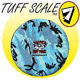 Tuffy's Sport Flyer Blue Camo Design Dog Toy