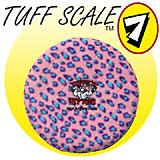 Tuffy's Sport Flyer Pink Leopard Design Dog Toy