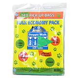 Doggie Walk Bulk Economy Pack 105 Dog Waste Bags