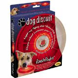 Lighted Dog Discuit Flying L.E.D. Disc Red