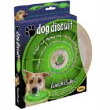 Lighted Dog Discuit Flying L.E.D. Disc Green