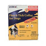 Zodiac Flea and Tick Collar 5 month Small Dog