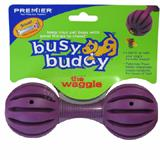 Waggle Small Flexible Dog Toy and Treat Dispenser