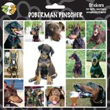 Arf Art Dog Sticker Pack Doberman
