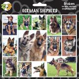 Arf Art Dog Sticker Pack German Shepherd