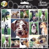 Arf Art Dog Sticker Pack Great Dane