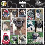 Arf Art Dog Sticker Pack Pug