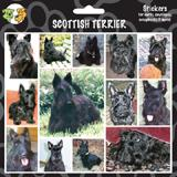 Arf Art Dog Sticker Pack Scottish Terrier