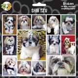 Arf Art Dog Sticker Pack Shih Tzu