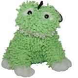 Floppy Moppy Frog Soft Dog Toy with Squeaker