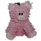 Floppy Moppy Pig Soft Dog Toy with Squeaker