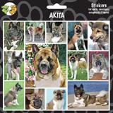 Arf Art Dog Sticker Pack Akita