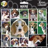 Arf Art Dog Sticker Pack Beagle
