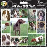 Arf Art Dog Sticker Pack German Shorthair Pointer