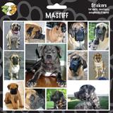 Arf Art Dog Sticker Pack Mastiff