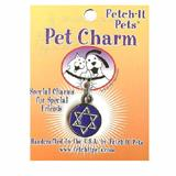 Star of David Pet Pet Tag Collar Charm