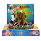 Penn Plax Action Diver with Eel Aquarium Ornament