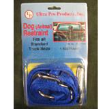 Blue Nylon Truck Dog Tie Out Restraint