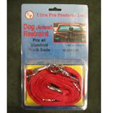 Red Nylon Truck Dog Tie Out