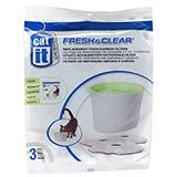Cat-It Fresh & Clear Fountain Small Filter 3pk