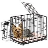 Wire Fold-Down Dog Crate 19x12x14