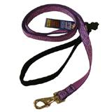 Lupine Nylon Dog Leash 6-foot x 3/4-inch Jelly Roll