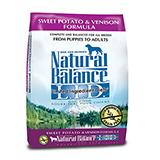 Natural Balance Venison Sweet Potato Allergy Dog Food 15lb