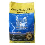 Natural Balance Green Pea & Duck Cat Food 5lb