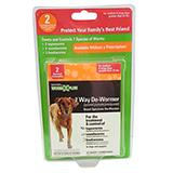 WormX Plus For Medium & Large Dogs 12pk