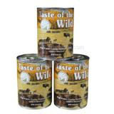 Taste of the Wild High Prairie Canned Dog Food case