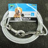 Cider Mill Cable 10 foot Large Dog Tie-out