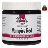 Top Performance Pet Hair Dye Gel Vampire Red