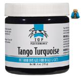 Top Performance Pet Hair Dye Gel Tango Turquoise