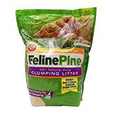 Feline Pine Scoop Clumping Pine Cat Litter 10 Lb