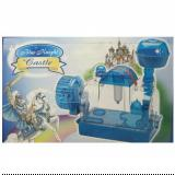 Penn Plax Blue Knight Castle 2 Level Hamster and Gerbil Cage