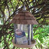 Birdscapes Wood Gazebo Hanging Wild Bird Feeder
